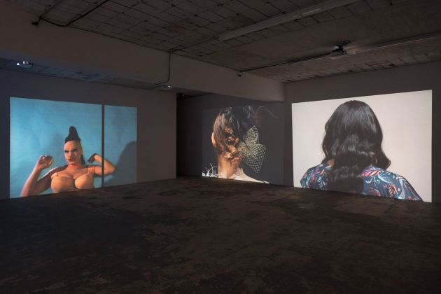 Charles Atlas, I am Beautiful, 2020. Installation view at ICA, Milano 2021. Photo Filippo Armellin