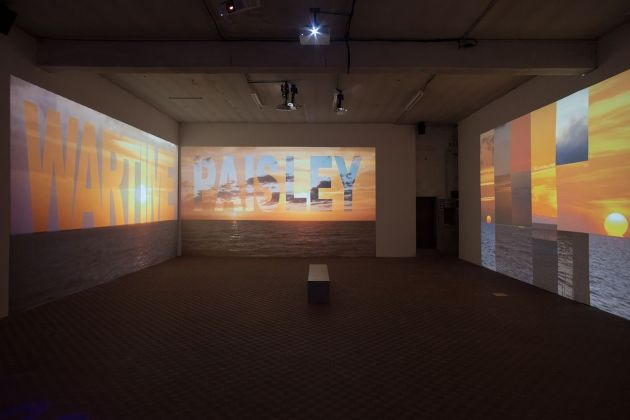 Charles Atlas, The Waning of Justice, 2015. Installation view at ICA, Milano 2021. Photo Filippo Armellin