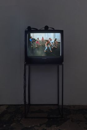 Charles Atlas. Ominous, Glamorous, Momentous, Ridiculous. Installation view at ICA, Milano 2021. Photo Filippo Armellin