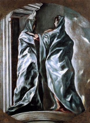 El Greco, Visitazione, 1610 14. Washington, Dumbarton Oaks, House Collection. Photo © Dumbarton Oaks, House Collection, Washington, DC