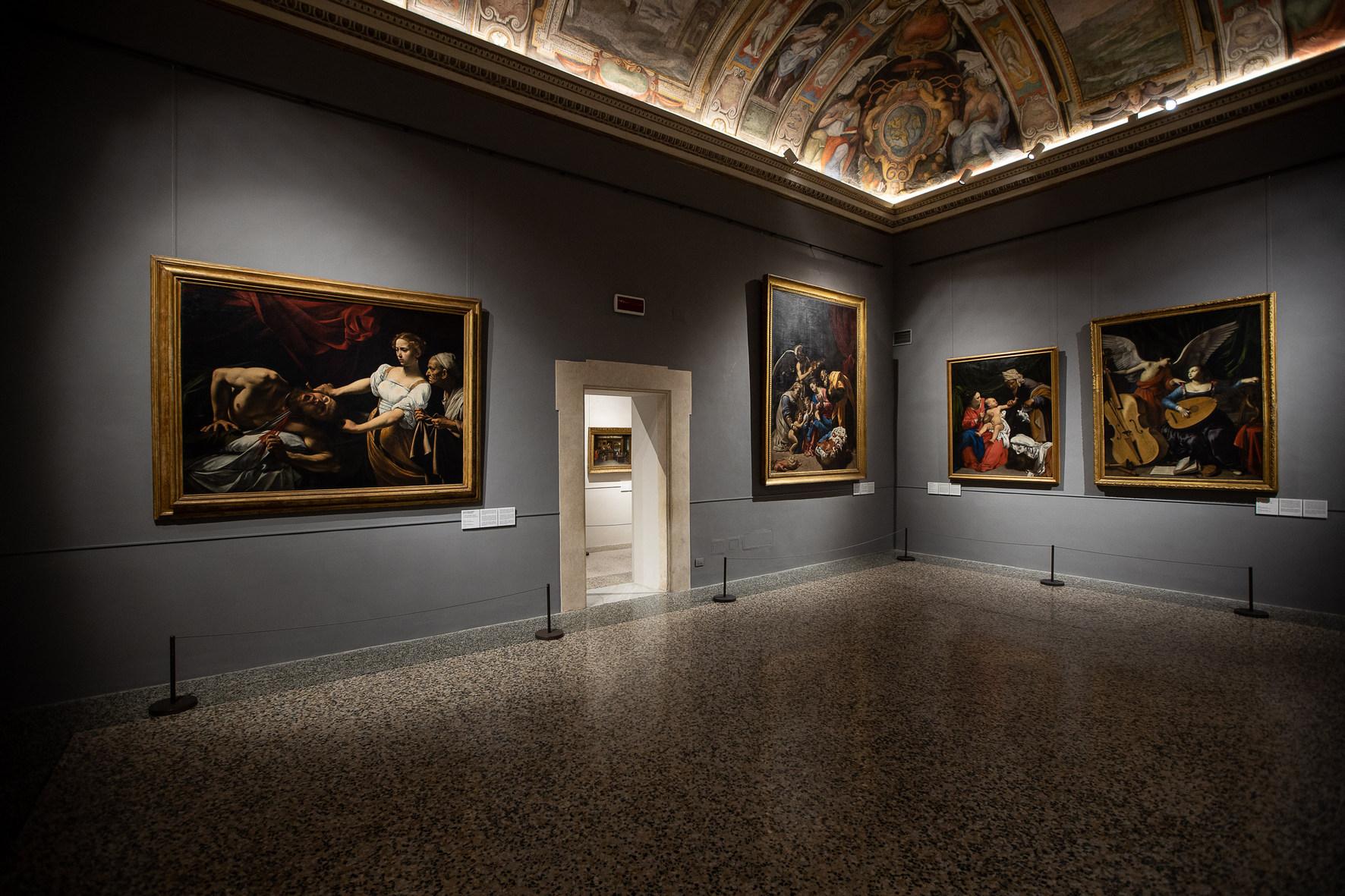 Gallerie Nazionali Arte Antica, Palazzo Barberini, Sala Caravaggio, Foto Alberto Novelli