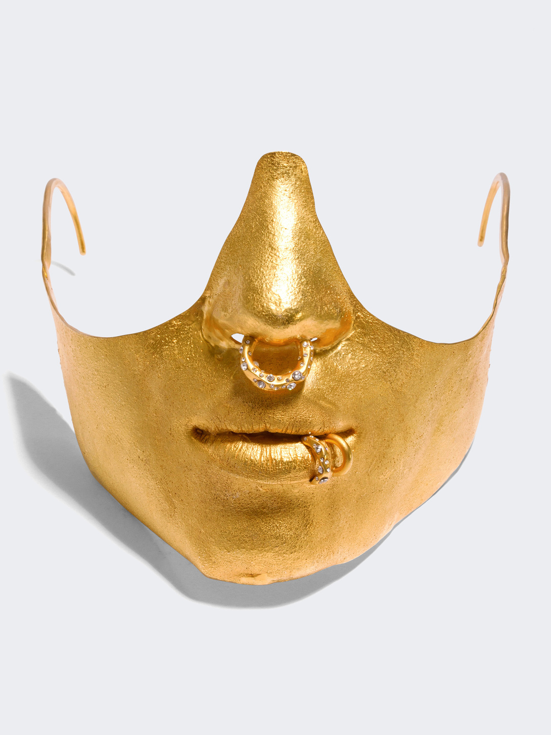 LOWER FACE MASK, Elsa Schiaparelli
