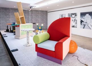 Memphis. 40 Years of Kitsch and Elegance. Exhibition view at Vitra Design Museum Gallery, Weil am Rhein 2021