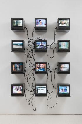 Metro Pictures, Gretchen Bender_TV Text and Image (Metro Pictures Version), 1986