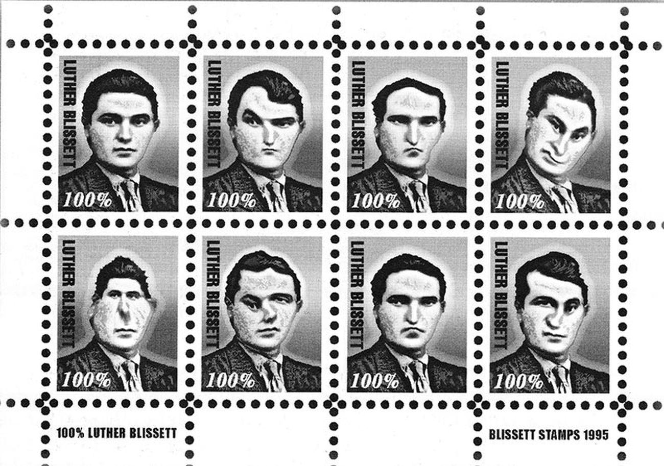 Piermario Ciani, Blissett stamps, 1995