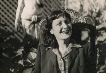 Portrait Lina Bo Bardi - photo by Pietro Bardi 1947 - courtesy of Instituto Bardi (detail)