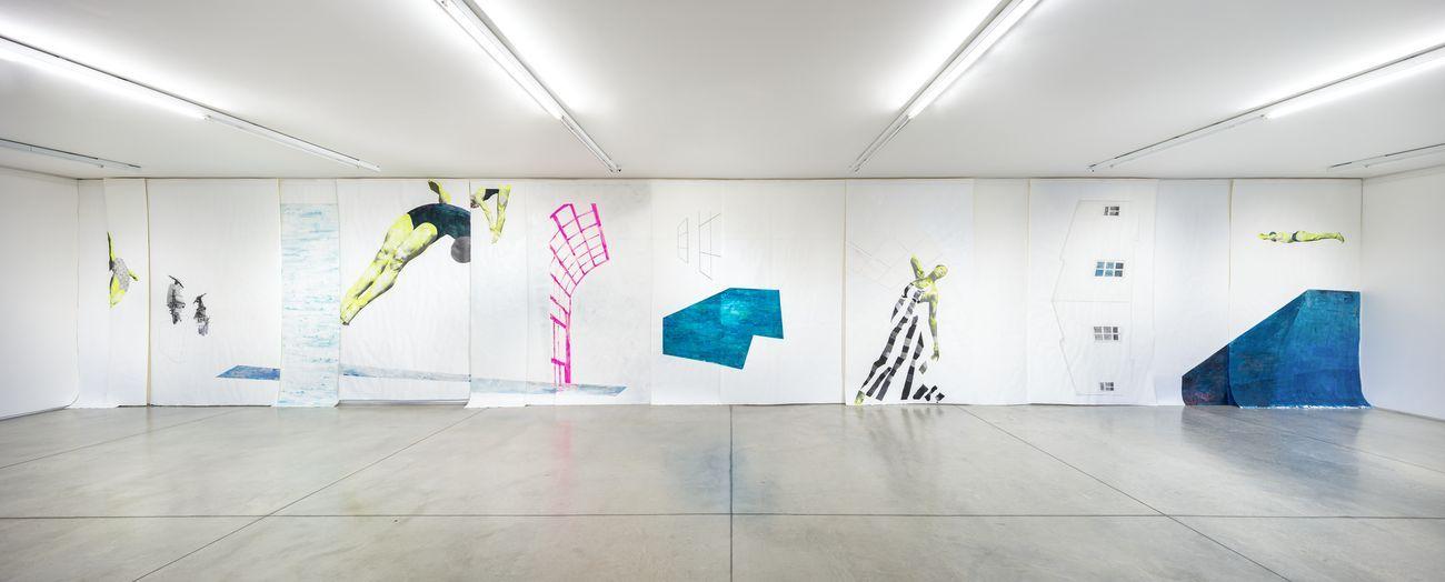 Ruby Onyinyechi Amanze. How to be enough. Exhibition view at Collezione Maramotti, Reggio Emilia 2021. Photo Roberto Marossi