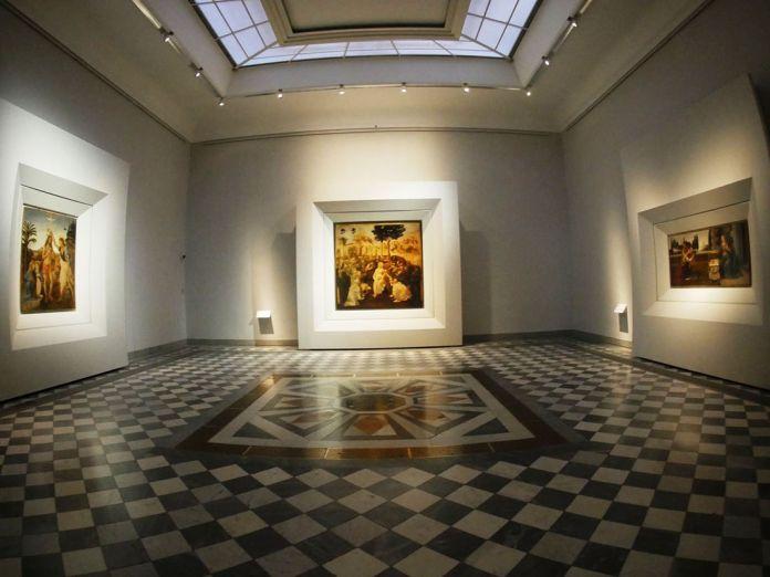 Uffizi Sala 35 Nuova sala di Leonardo Courtesy Gallerie degli Uffizi