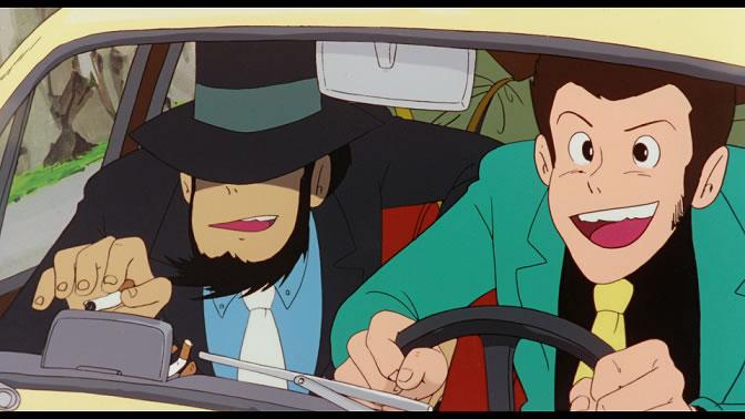 Una immagine di Lupin III Il castello di Cagliostro, diretto da Hayao Miyazaki