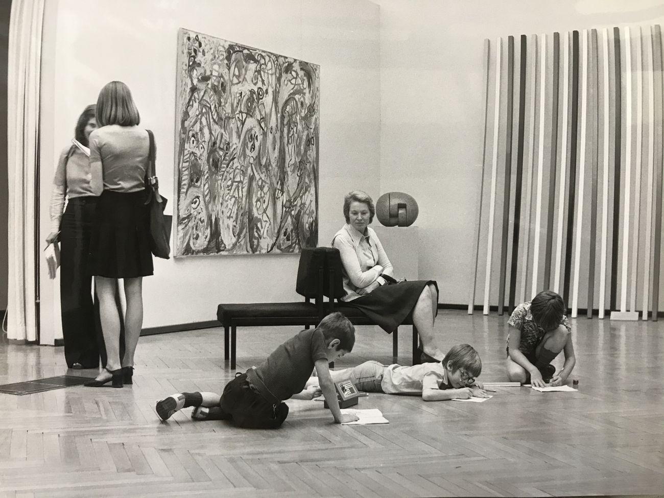 1974-1975. Laboratorio Didattico, Galleria Nazionale d'Arte Moderna e Contemporanea, Roma. Archivio GNAM