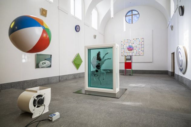 Damien Hirst, Mental Escapology, Protestant Church, 2021