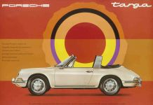 Advertisement of the Porsche 911 Targa, 1967 © Company Archive Porsche AG