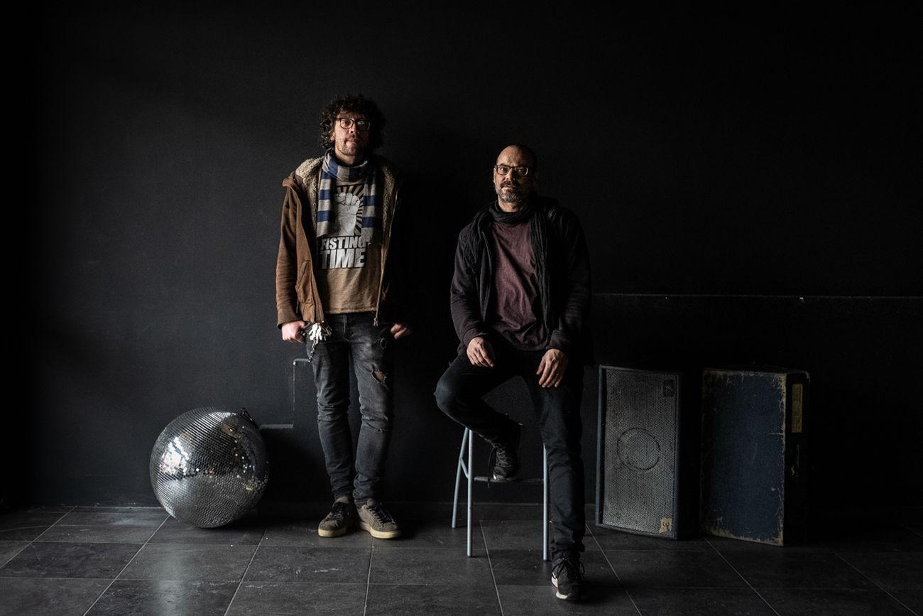 Andrea Terzuolo e Alessandro Dalla Vecchia, soci di Spazio211 a Torino. Photo © Marco Marucci