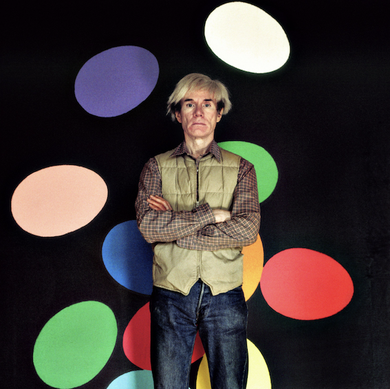 Andy Warhol - La Factory New York, 1986 ©Aurelio Amendola