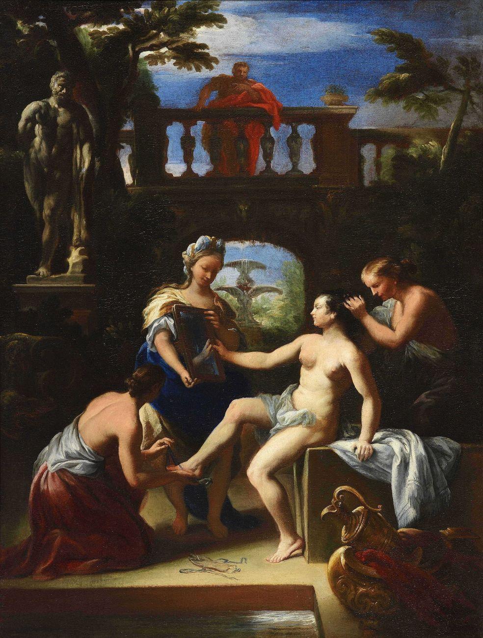 Antonio Gherardi, Betsabea al pozzo. Courtesy Altomani & Sons