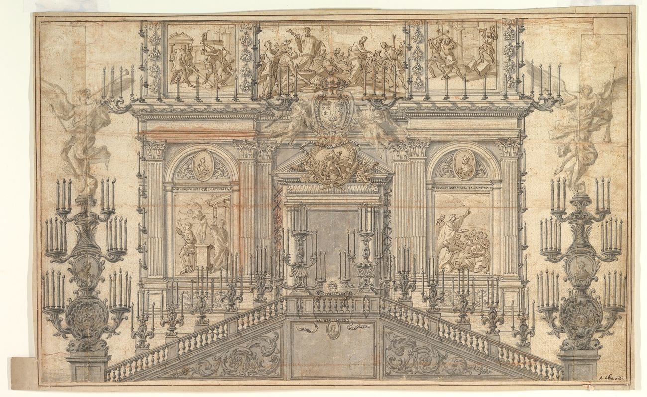 Antonio Gherardi, Decorazione per festa. Metropolitan Museum of Art, New York