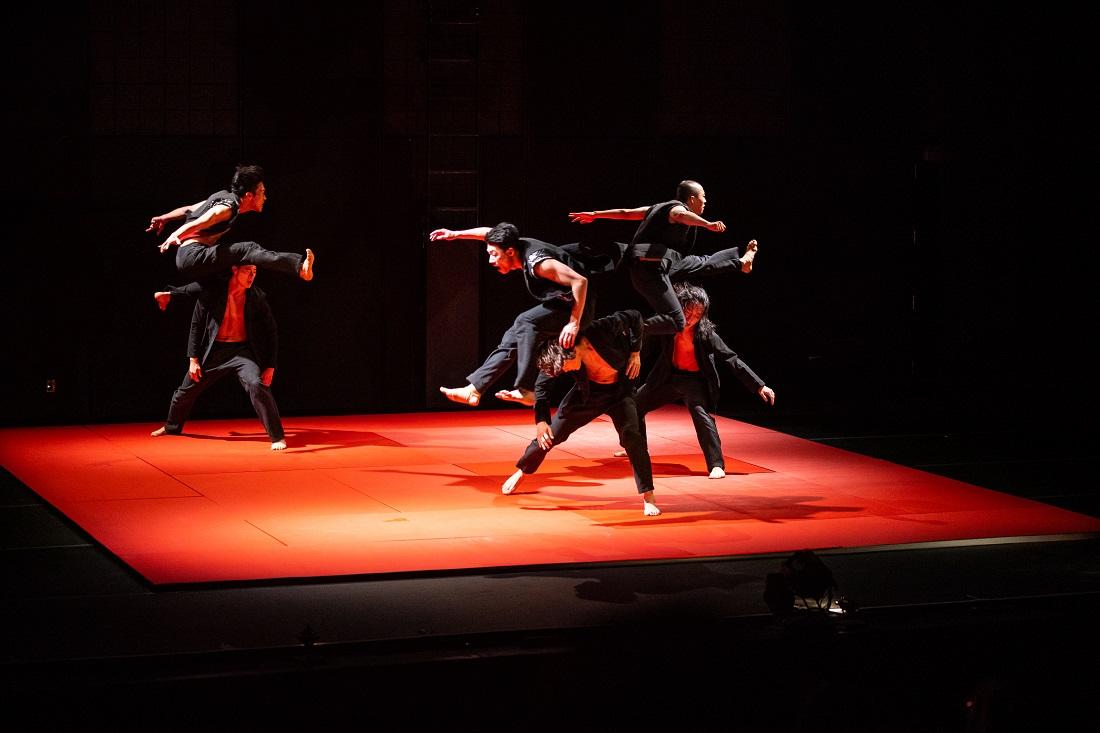 Bereishit Dance Company; foto dello spettacolo Judo ©Robert Torres