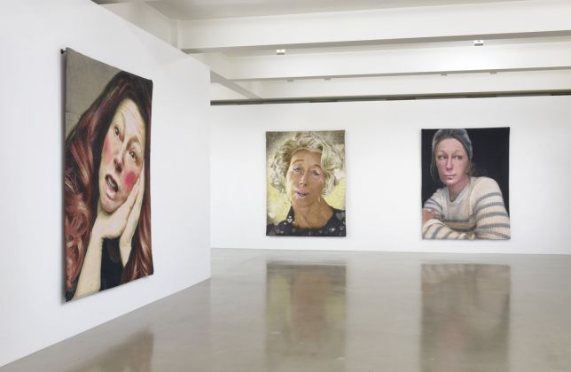 Installation view, Cindy Sherman, Tapestries February 16–May 1, 2021, Sprüth Magers, Los Angeles © Cindy Sherman Courtesy the artist, Sprüth Magers and Metro Pictures, New York Photo Robert Wedemeyer