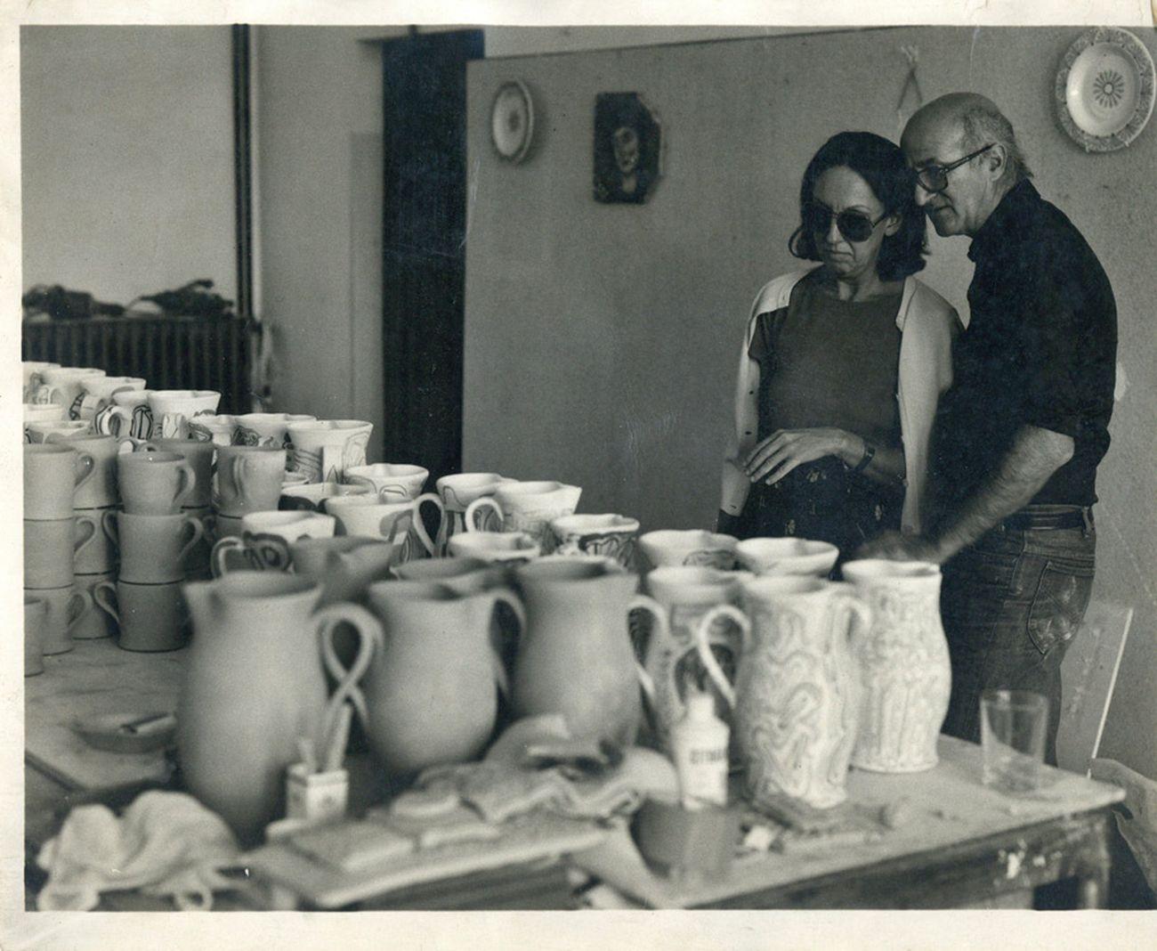 Carla Lonzi e Pietro Consagra. Fondo Carla Lonzi, Galleria Nazionale d'Arte Moderna e Contemporanea