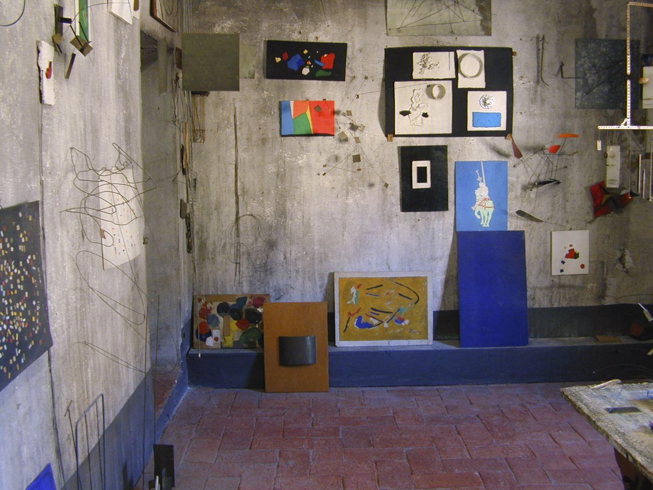 Casa studio Fernando Melani, Pistoia. Photo © Carlo Chiavacci. Su concessione del Comune di Pistoia