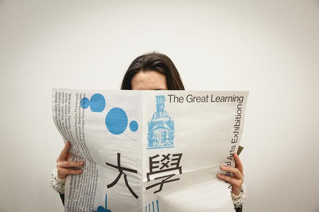 Catalogo della mostra The Great Learning, NABA, La Triennale di Milano, 2017