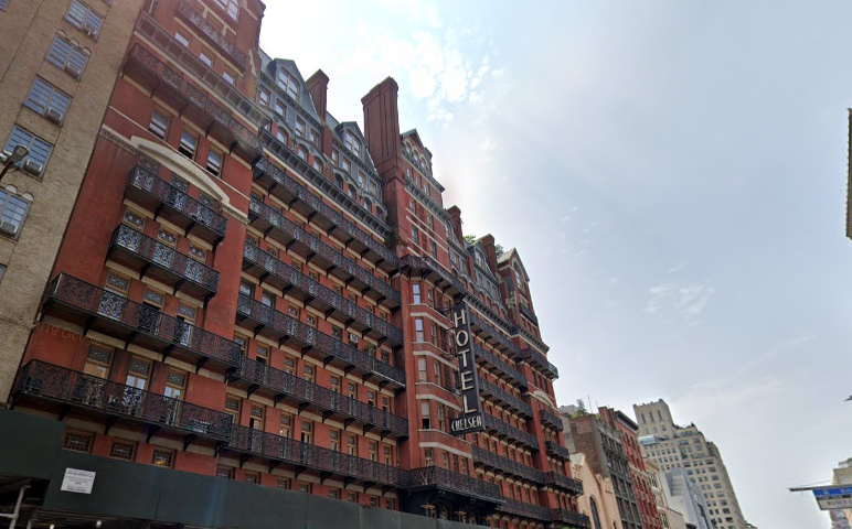 Chelsea Hotel, New York.