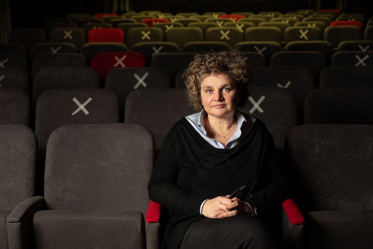Cristina Voghera, direttrice artistica del Teatro Baretti di Torino. Photo © Marco Marucci