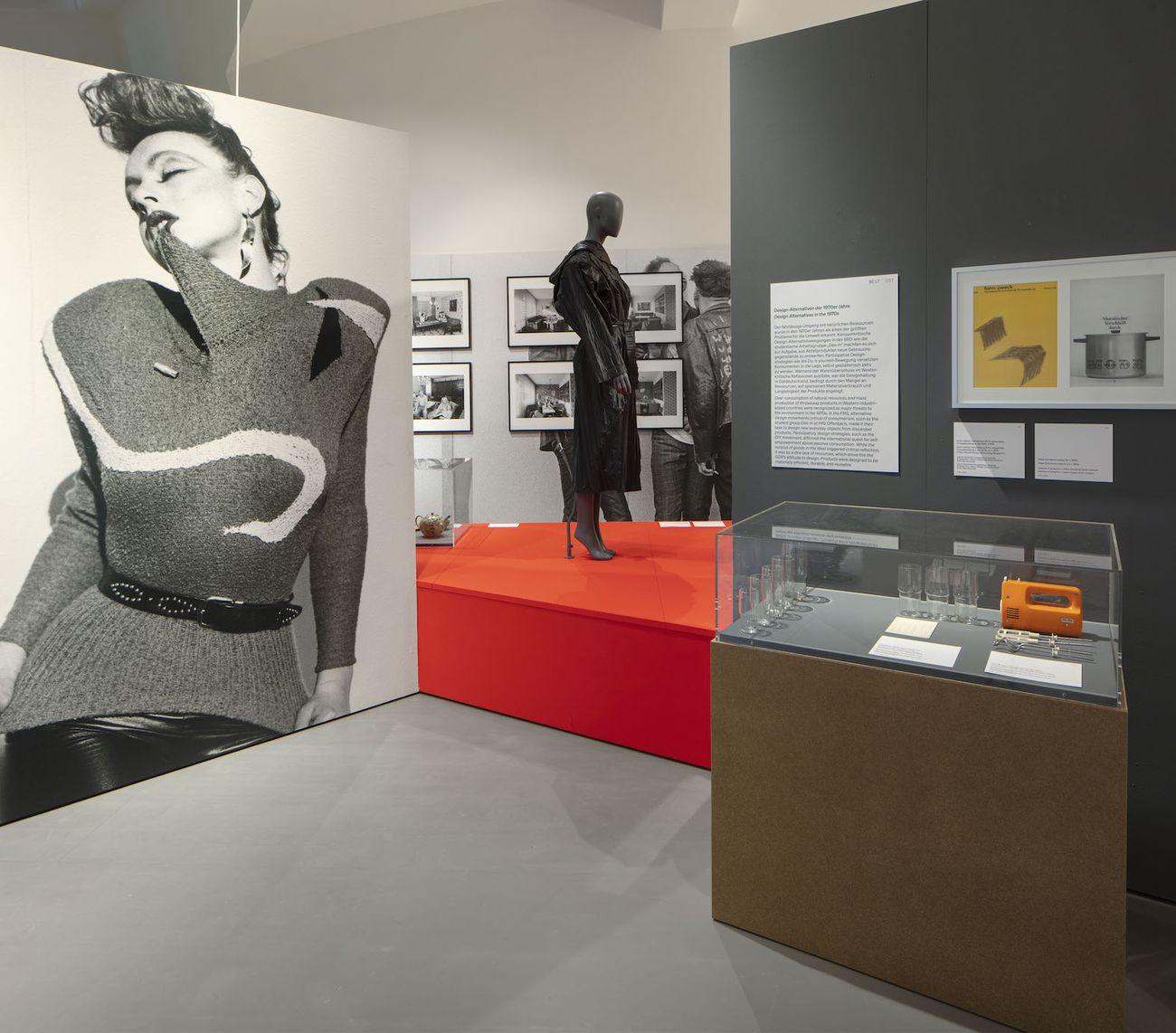 German Design 1949–1989. Installation view at Vitra Design Museum, Weil am Rhein 2021. Photo Ludger Paffrath