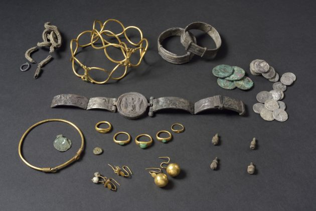 The Fenwick Hoard, England, AD 60–61. © Colchester Museums