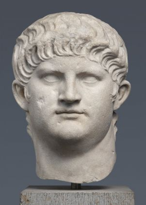 Marble portrait of Nero (Type IV), Italy, AD 64–68. Photo by Renate Kühling. Courtesy of State Collections of Antiquities and Glyptothek, Munich.