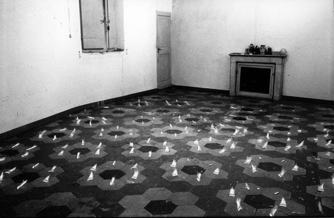 Jannis Kounellis, Untitled, 1969 © Estate of Jannis Kounellis. Photo © Claudio Abate