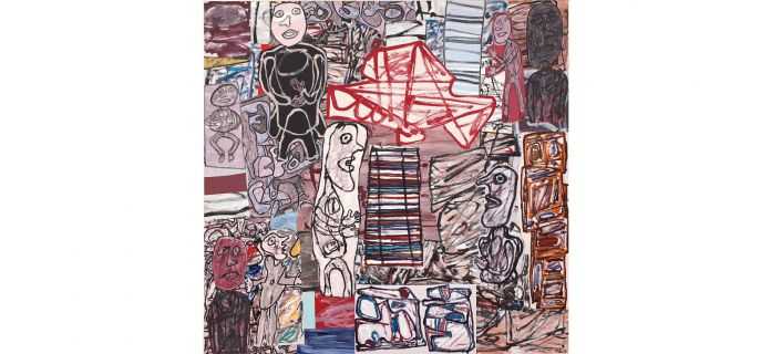 Jean Dubuffet, La féconde journée (1976) Courtesy of Phillips