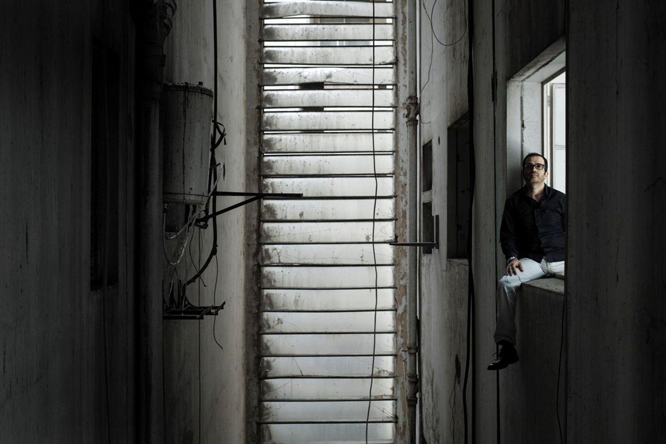Karim Nader. Photo Marco Pinarelli