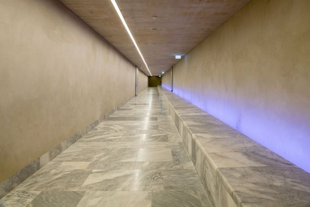 Kunsthaus Zürich, ampliamento di David Chipperfield, corridoio. Photo © Juliet Haller, Ufficio di urbanistica, Zurigo