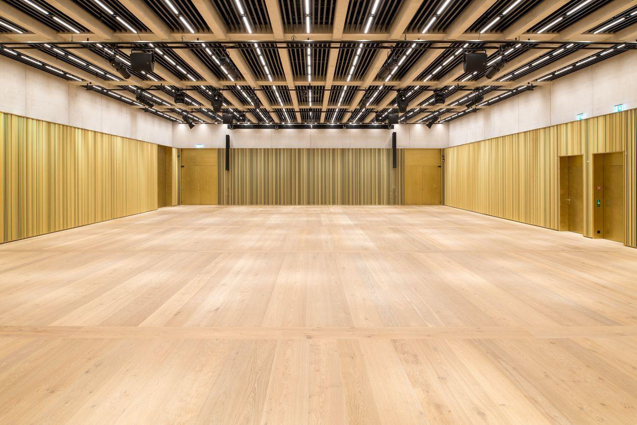 Kunsthaus Zürich, ampliamento di David Chipperfield, sala centrale. Photo © Juliet Haller, Ufficio di urbanistica, Zurigo
