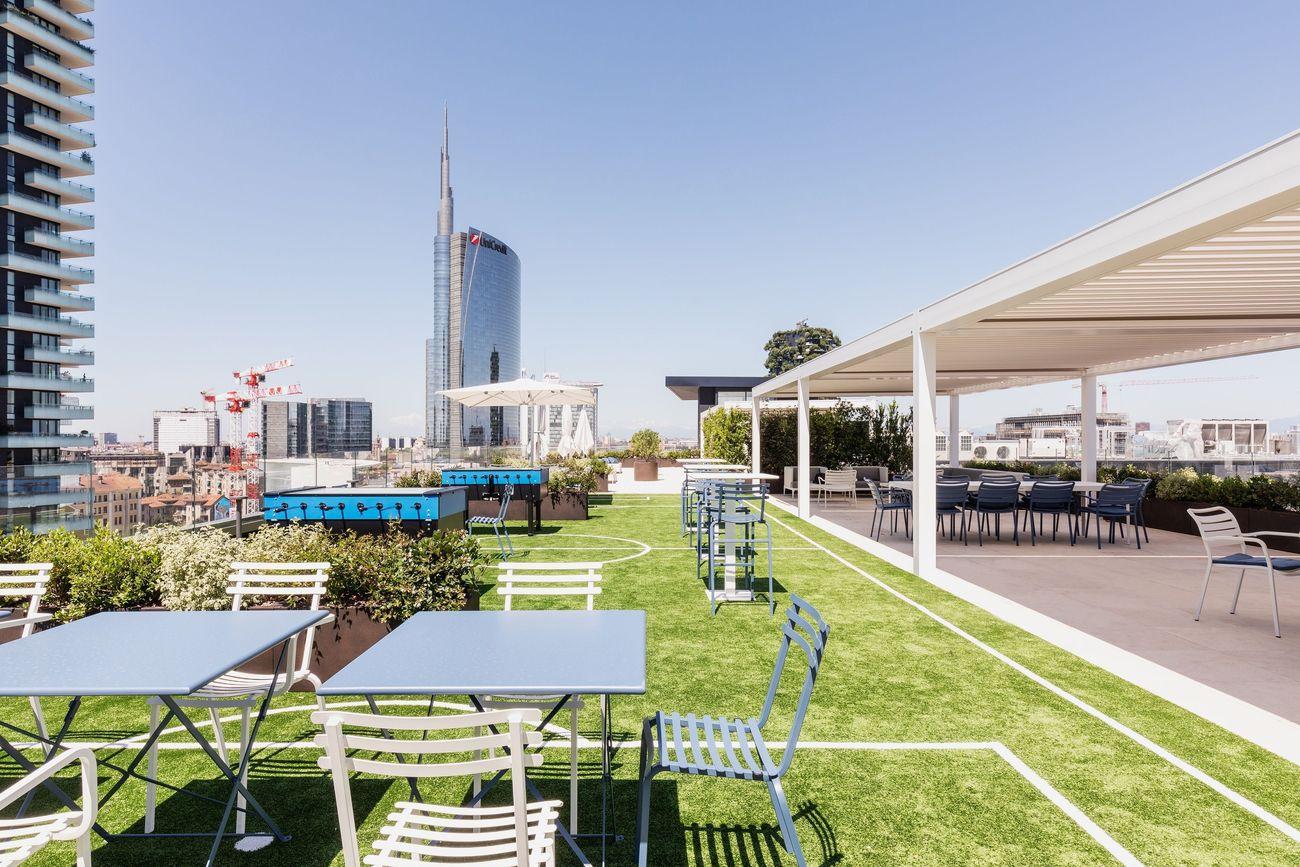 La nuova sede dell'Inter in Viale della Liberazione a Milano