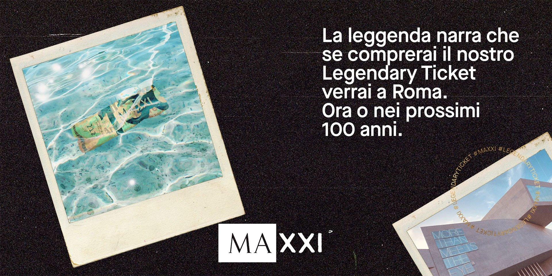 MAXXI, Legendary Ticket