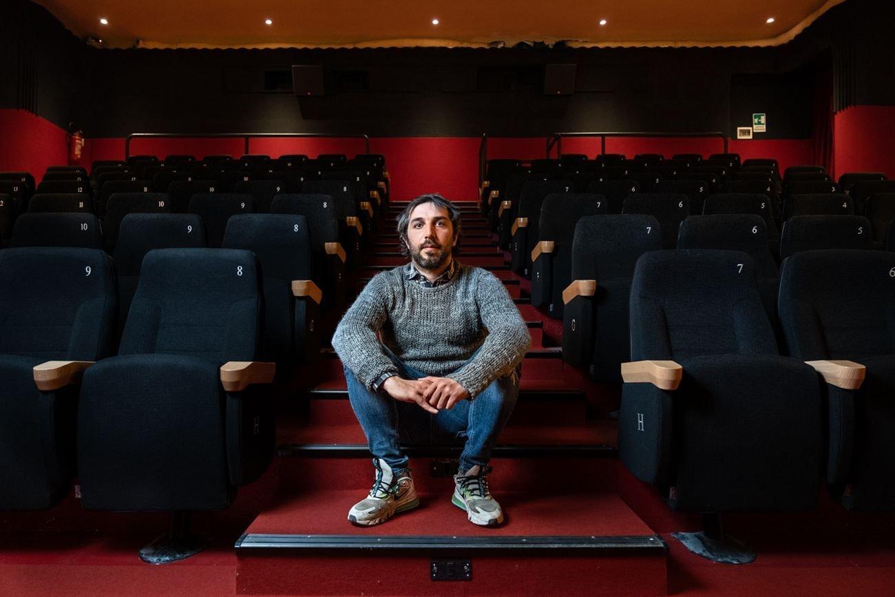 Lorenzo Ventavoli, Cinema Romano di Torino. Photo © Marco Marucci