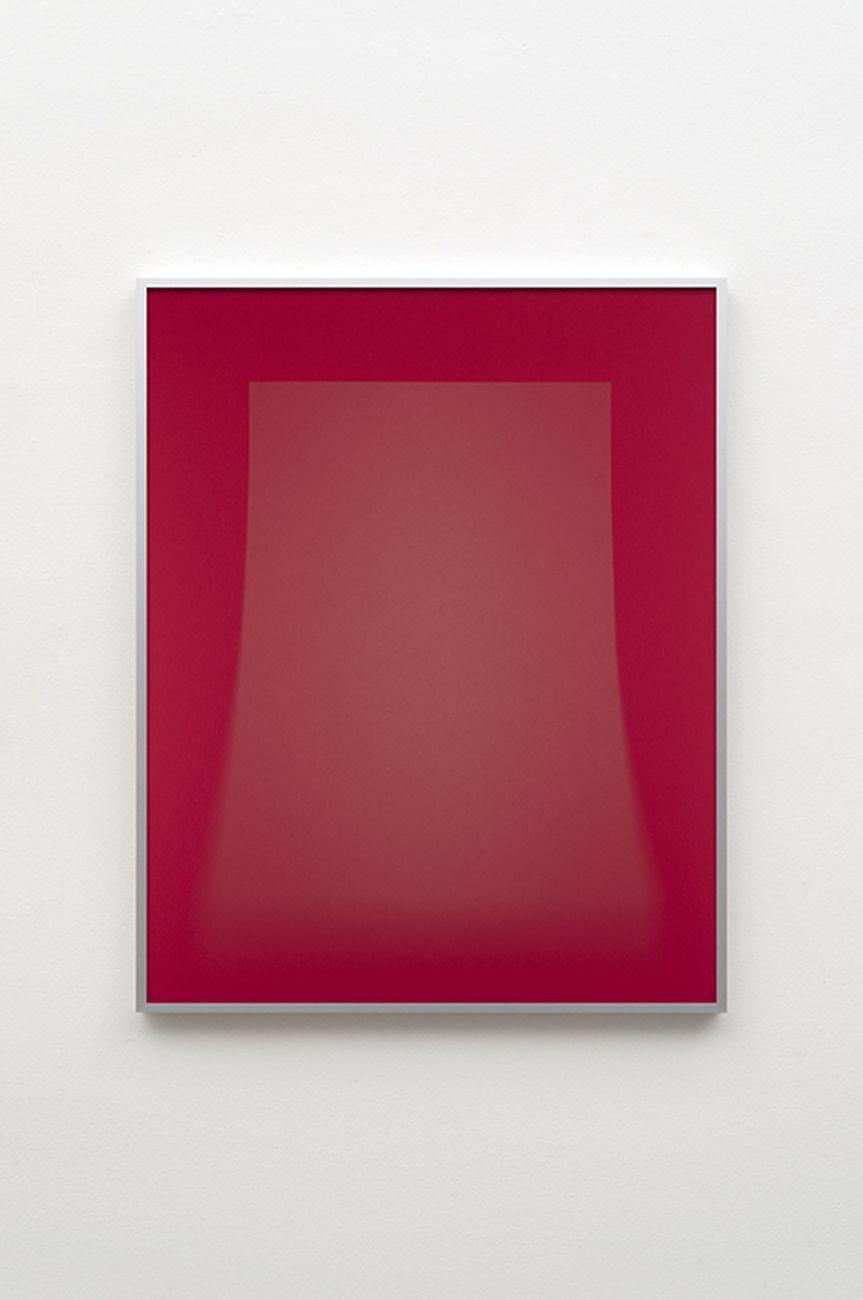 Luca Lupi, Espozione LVIII, 2021, luce su carta, cm 100x80