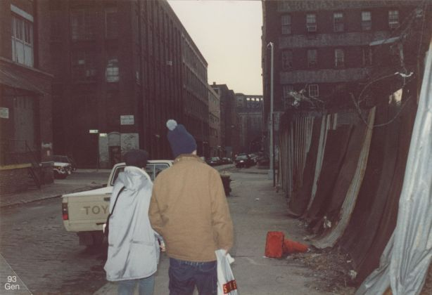 Luca with a Friend, New York, NYC, 1993. Archivio Slam Jam