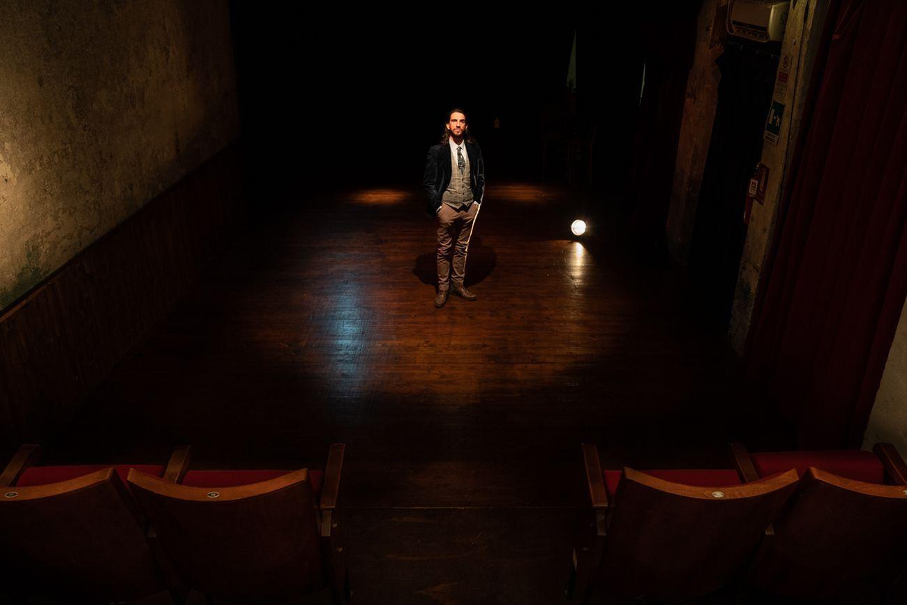 Luigi Orfeo, presidente di Teatro Casa Fools. Photo © Marco Marucci