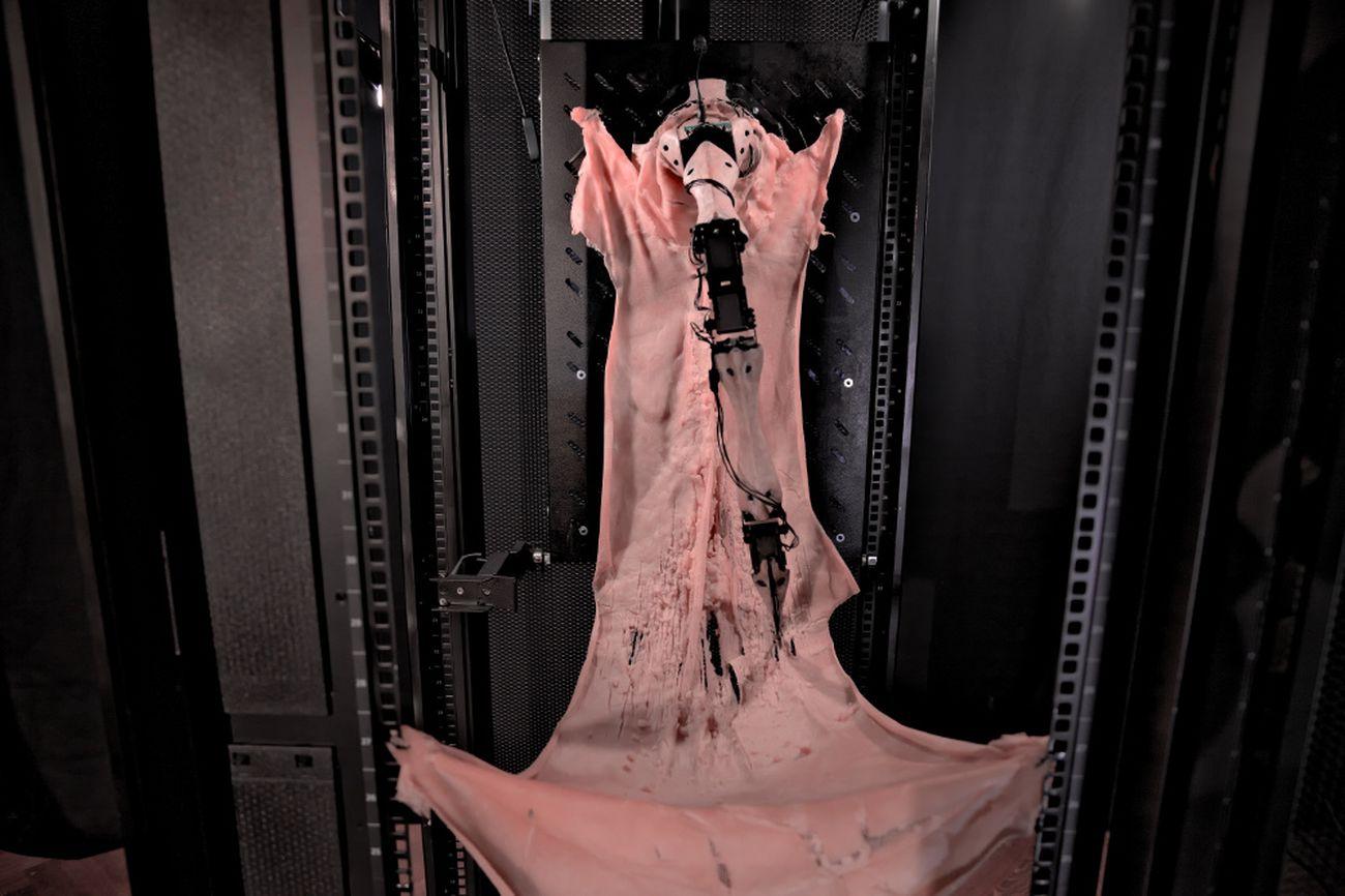 Marco Donnarumma, Amygdala. Installation view at Baltan Laboratories, Eindhoven. Photo dell'artista