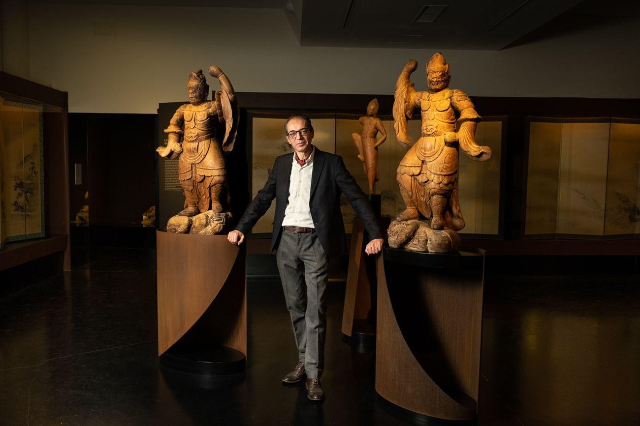 Marco Guglielminotti Trivel, direttore del MAO Museo d'Arte Orientale di Torino. Photo © Marco Marucci