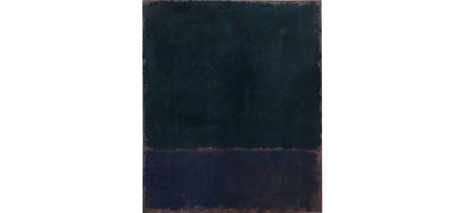 Mark Rothko, Untitled (Black Blue Painting) (1968) Courtesy of Phillips
