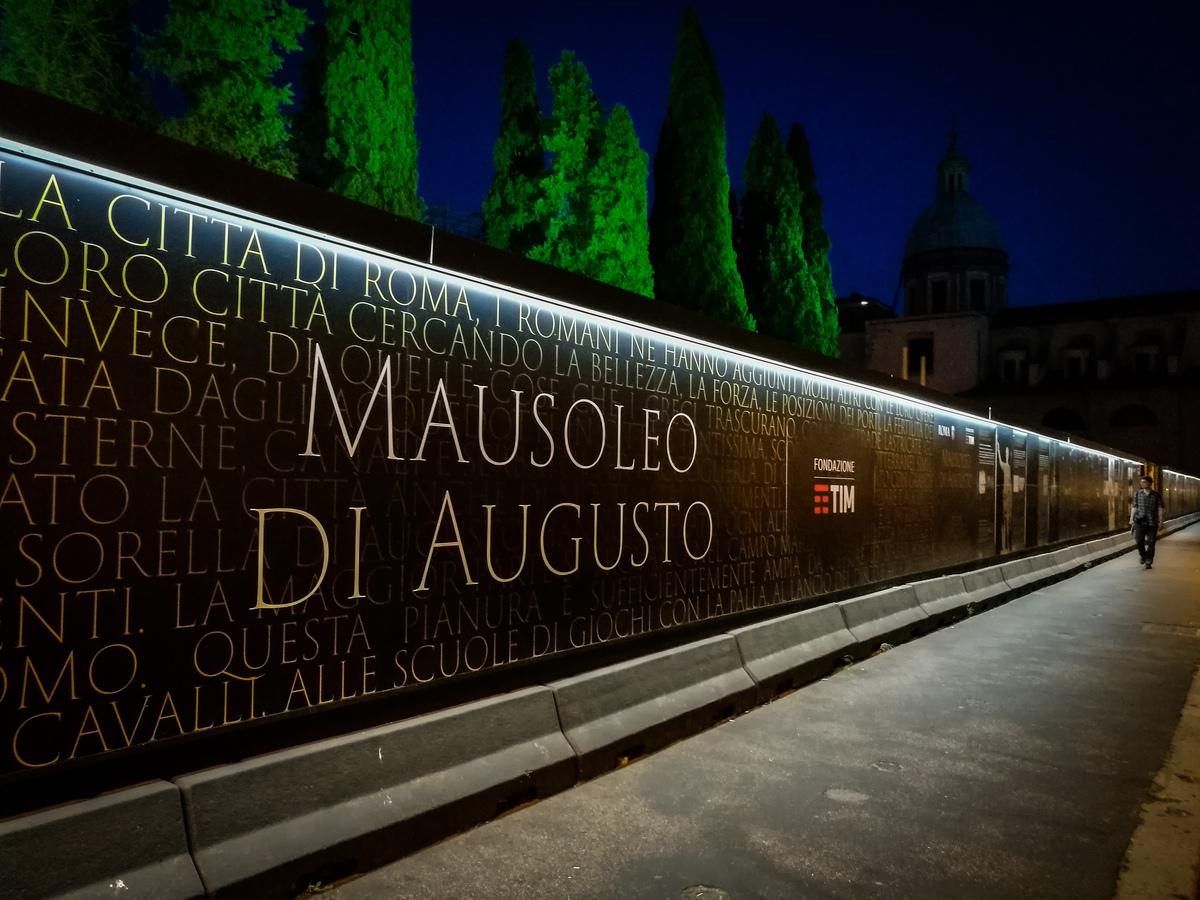 Mausoleo di Augusto. Credits TIM