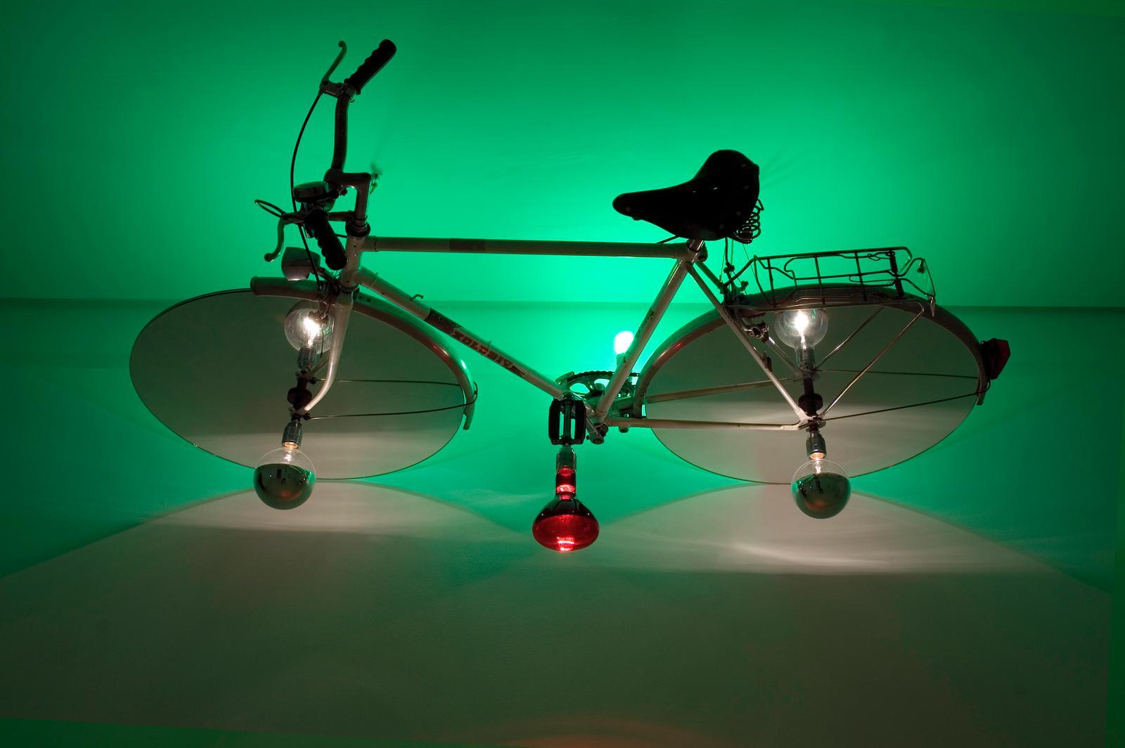 Meteor Shower Bike, Olafur Eliasson