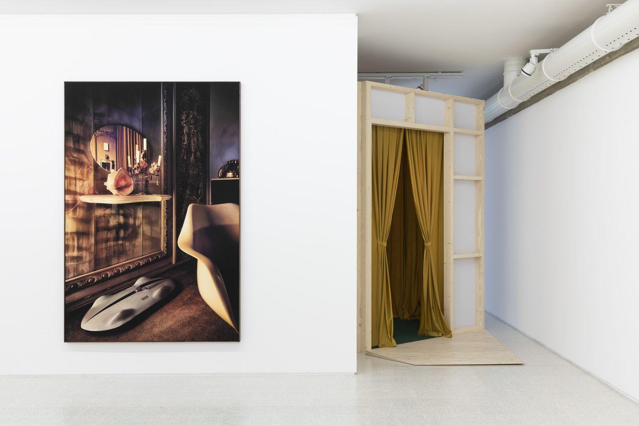 Mollino/Insides. Exhibition view at Collezione Maramotti, Reggio Emilia 2020. Photo Roberto Marossi