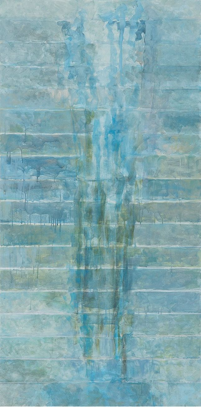 Nancy Genn, Patagonia 7, 2014, caseina su tela. Courtesy Marignana Arte & the artist
