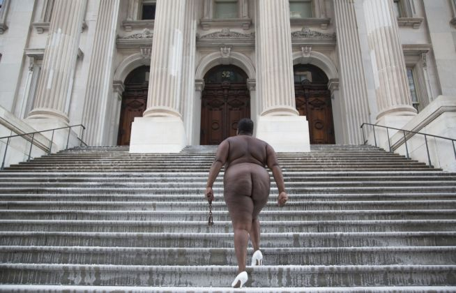 Nona Faustine, White Shoes, 2015. Courtesy of the Artist