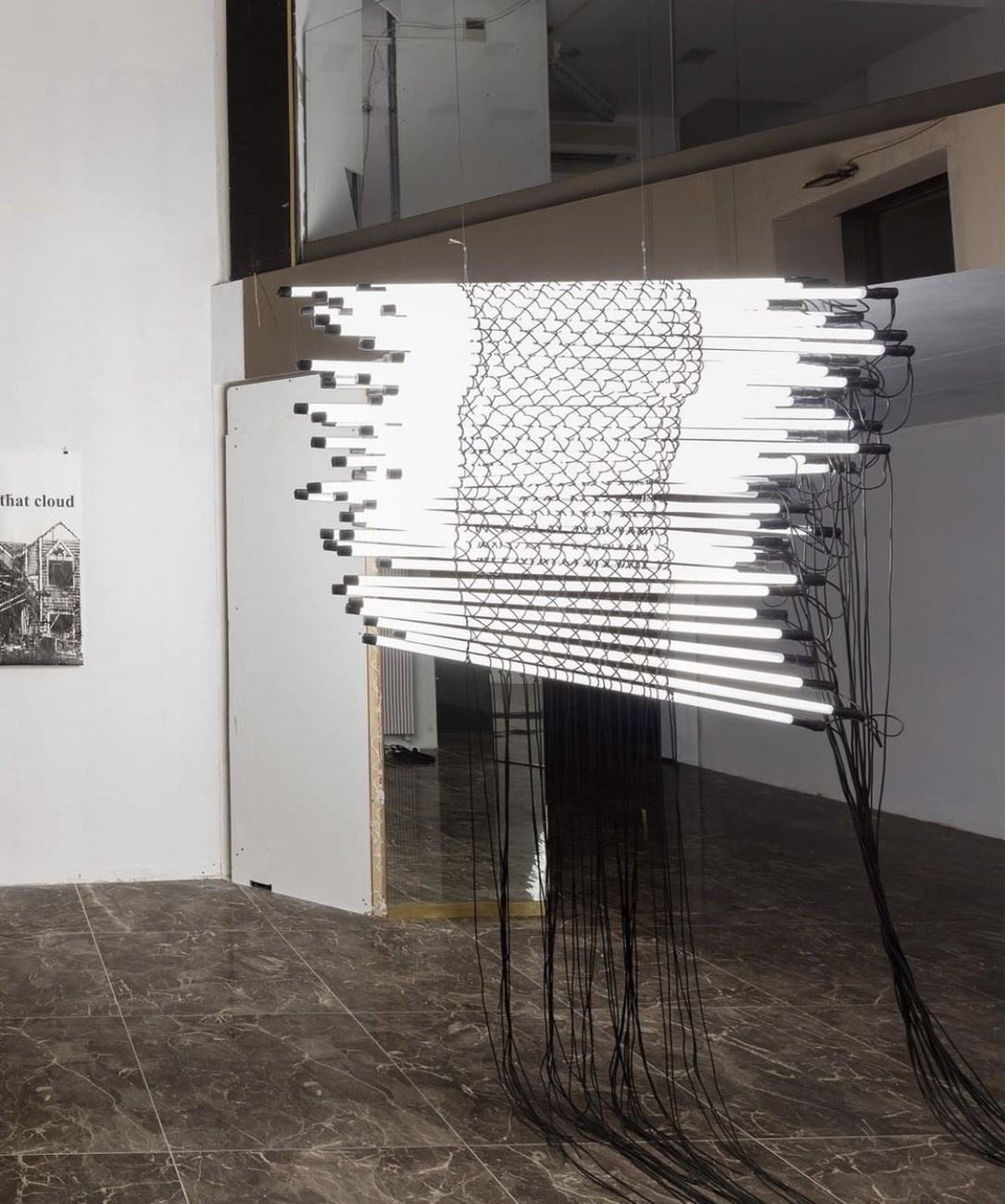 Opere di Monica Bonvicini per ATO Art Takes Over, Milano 2021. Courtesy Galleria Raffaella Cortese. Photo Andrea Rossetti